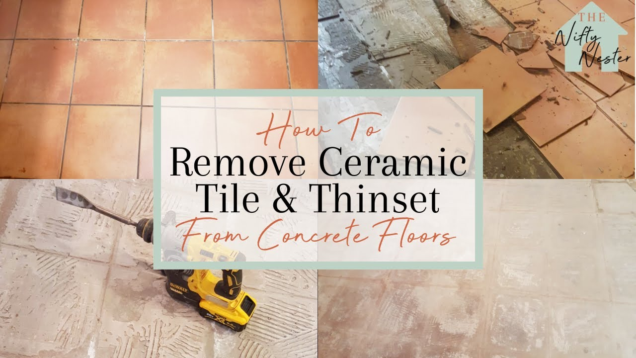 cost to remove tile from concrete
