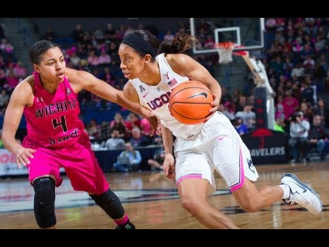 UConn Women's Basketball Highlights v. Wichita State 02/10/2018