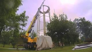 Rochester Public Utilities (RPU) - Tower Demolition Time Lapse