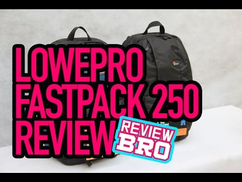 review lowepro fastpack 250 camera backpack - indonesia