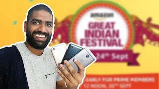 Best Smartphone Deals - Amazon Great Indian Festival Sale!