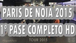 Orquesta PARIS DE NOIA 2015 -  1º PASE COMPLETO HD/1:30h - Raxó (Teo)