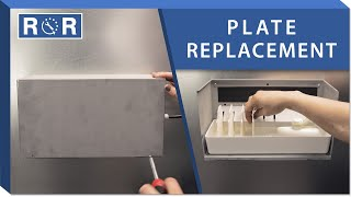 humidifier plates repair and replace white rodgers h 40 lau l 40