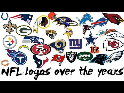 🏈 NFL All Logos Over The Years 🏈