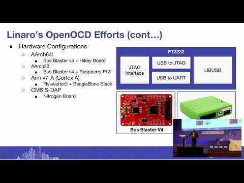 HKG18-403 - Introducing OpenOCD: Status of OpenOCD on