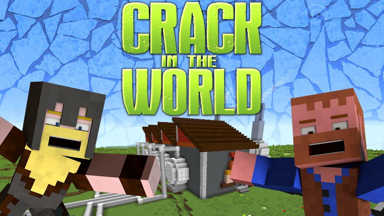 Crack in the World Adventure Map - 9Minecraft.Net
