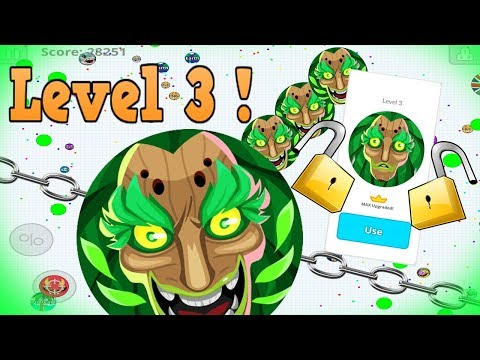 Agar.io Mobile UNLOCKING LEVEL 3 SKINS!! BEST Gameplay Solo & Duo!! thumbnail