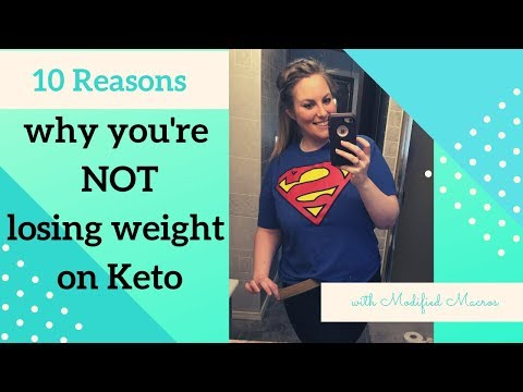 10 Reasons why you are NOT losing weight on keto and how to fix them
