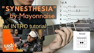Gambar cover Synesthesia Guitar Tutorial - Mayonnaise (Wish FM)