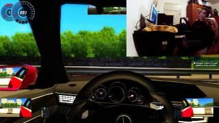 ALN1001 GAMEPLAY - City Car Driving - ALUCINADO - Tipo ROTA - Tocada de MALANDRO