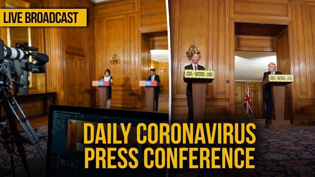 Live: UK Government daily coronavirus briefing - Friday, June 19, 2020