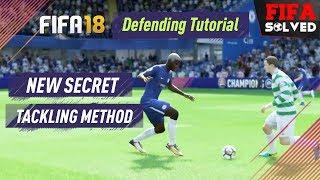 FIFA 18 Defending Tutorial (New Secret Tackling Method)