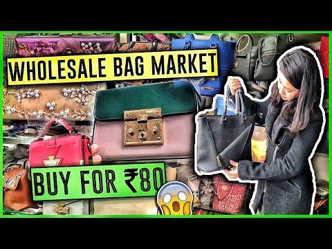 BAGS WHOLESALE MARKET| NABI KARIM | Branded Purse, Clutches for Ladies| Business Purpose Sadar Bazar