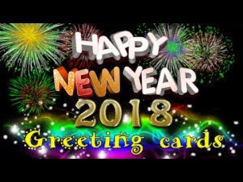 Happy new year 2018 wish video text animation for whatsapp, facebook share friend and family.amrjeet