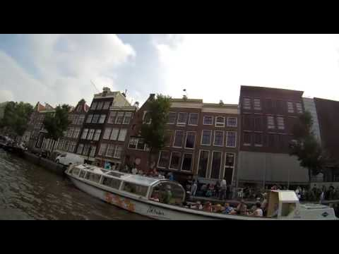 New video from the canal tour in Amsterdam (HOLLAND) Dutch River Riders (jetski yamaha waverunner)