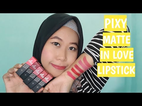 swatch-&-review-lipstick-pixy-matte-in-love
