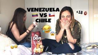 RETO DE PALABRAS   VENEZUELA VS CHILE   VERÓNICA OVIEDO