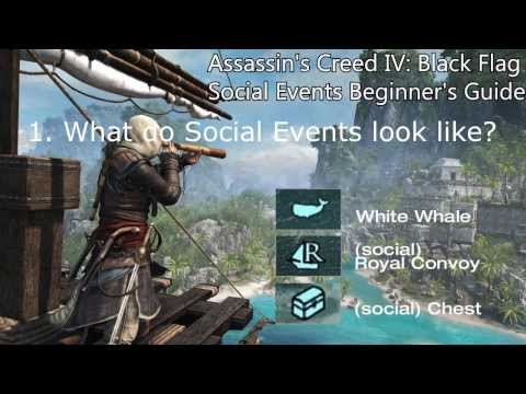 Assassins's Creed 4 SHARING IS CARING Trophy / Achievement Social Events Guide