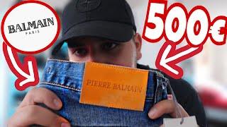 500€ JEANS FÜR 55€ BEKOMMEN 😱💸🔥   HIGHFASHION KLAMOTTEN ZU EINEM GÜNSTIGEN PREIS 💸🔥  MAHAN