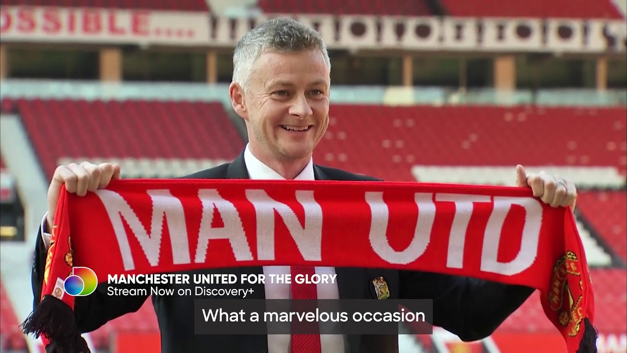 Watch 'Manchester United: For The Glory' now streaming on the Discovery Plus app.