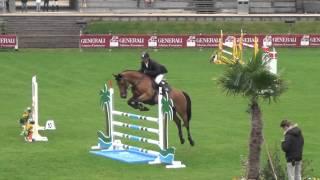 Ululu - Epreuve 6/7 ans - CSI YH - Jump Bost de Fontainebleau - 02/05/2014 (1ère place)