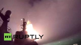 Russia: Russian warships launch first anti-IS strikes