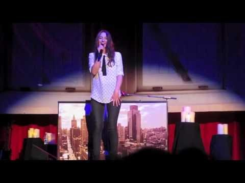 part of your world - covered by sara bareilles + intro (live in vancouver may 9th '13)