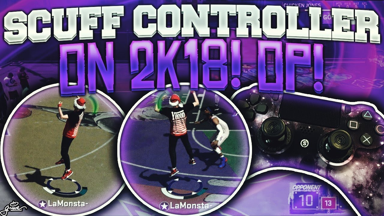 USING SCUF CONTROLLER ON NBA2K18- HOW TO NEVER MISS A SHOT AGAIN 100%  GREENS WITH THIS!