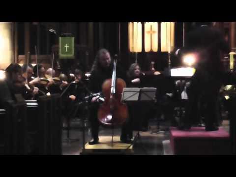 Jameson Platte Plays Elgar Cello Concerto, Mov. 4