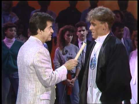 Dick Clark Interviews Baltimora  American Bandstand 1986