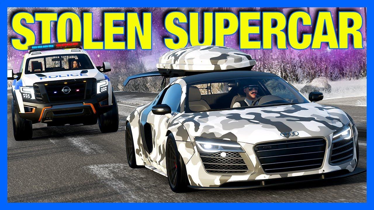 Forza Horizon 4 Online : Stolen Supercar!! (Winter Edition)