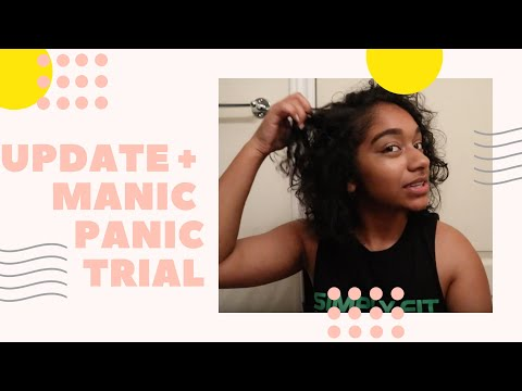 LIFE UPDATE + DOES MANIC PANIC WORK ON DARK NATURAL HAIR?!? | IMBRITNEY