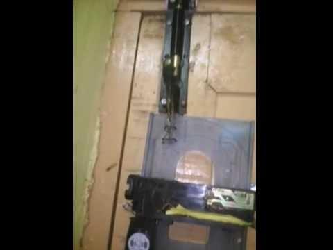 Easy homemade innovation with scrap metrial. autometic door lock
