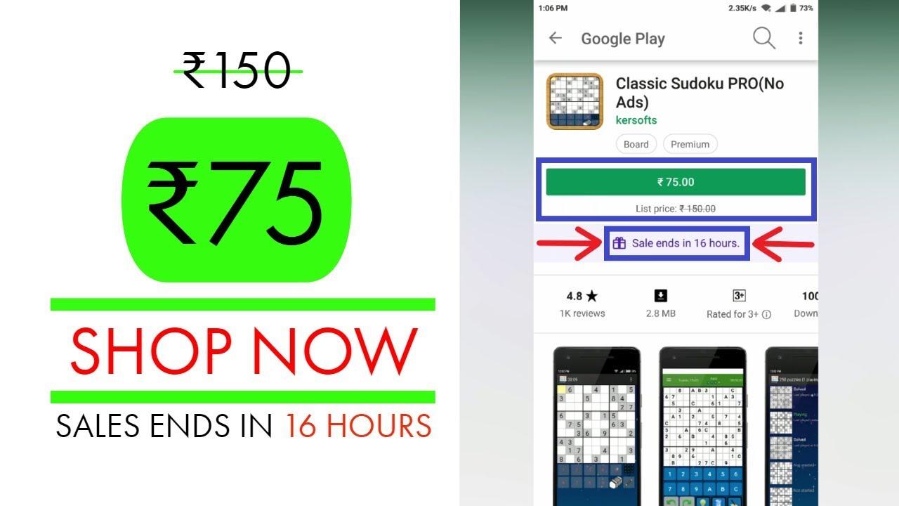 Classic Sudoku Pro(No Ads) *TODAY FREE*