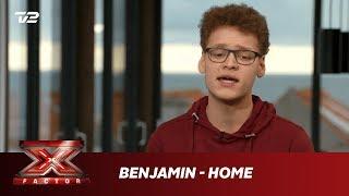 Benjamin synger 'Home' - Bruno Major (Bootcamp)   X Factor 2019   TV 2