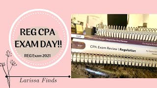 Download CPA EXAM DAY!! REG CPA Exam 2021 | How I Felt After Taking the Exam.....