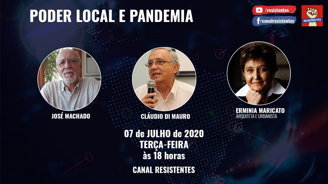 Poder Local e Pandemia recebe a Arquiteta e Urbanista Erminia Maricato.