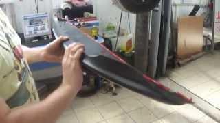 видео Накладка на бампер (Вариант 2) Chevrolet Cruze