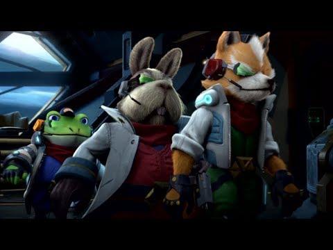 Star Fox in Starlink: Battle For Atlas (Gameplay & Cutscenes)