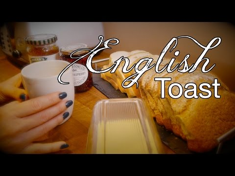 How to make English Toast | Binaural ASMR Tea Ritual Contd