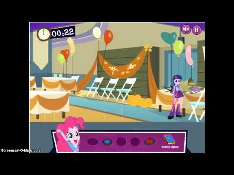 Mlp Equestria Girls:Canterlot High School Dash