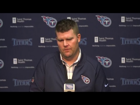 Titans Press Conference: GM Jon Robinson