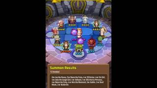 19,000 gems event summon in Dungeon Link (Special Event)