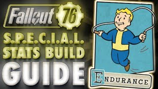 Fallout 76 ENDURANCE Build & Perk Cards Overview - SPECIAL Stats Guide