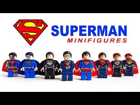 LEGO Superman Man of Steel KnockOff Minifigures (Bootleg)