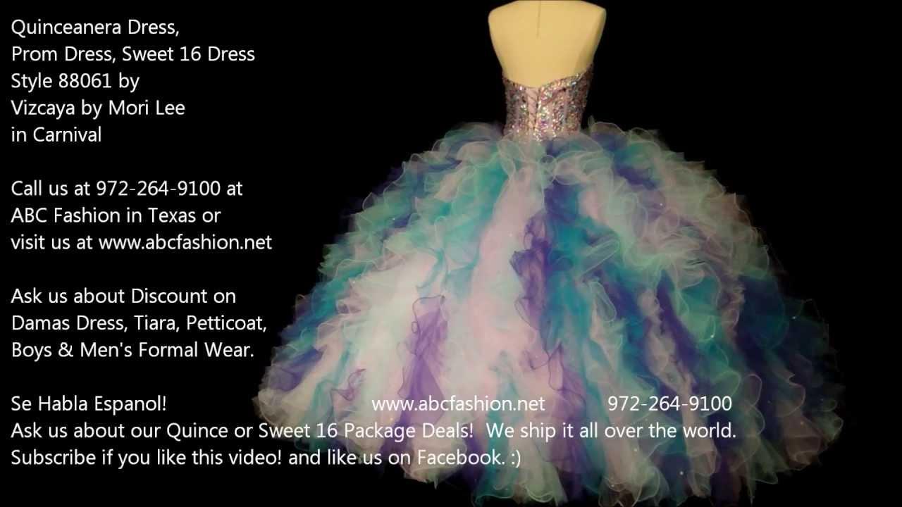 88061 Mardi Gras Vizcaya by Mori Lee Quinceanera Dress, Prom Dress ...