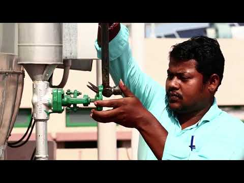 """""""Solar powered Steam Cooking System""""   Ramakrishna Mission Students Home RMSH, Chennai city, Tamil N"""