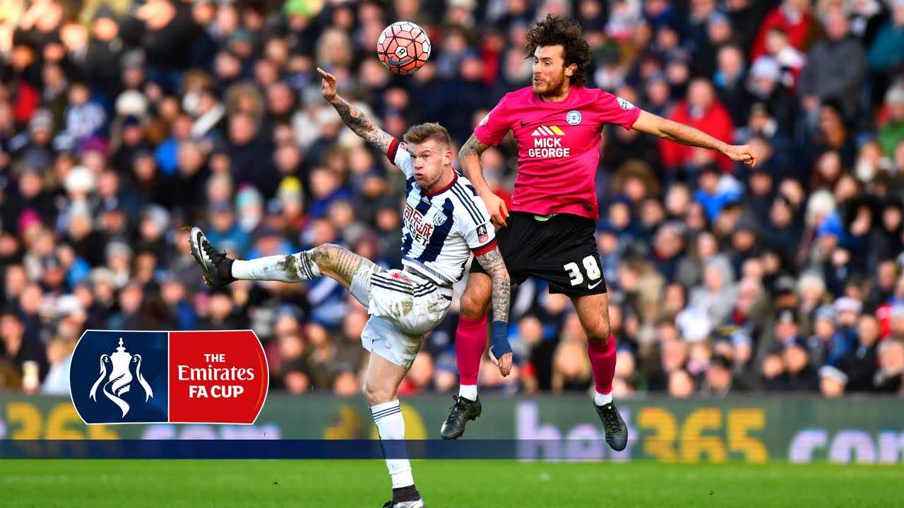 West Brom 2-2 Peterborough - Emirates FA Cup 2015/16 (R4) | Goals & Highlights