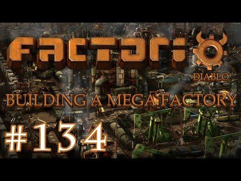 Factorio - Building a Mega Factory: Part 134 The Rocket Fuel setup