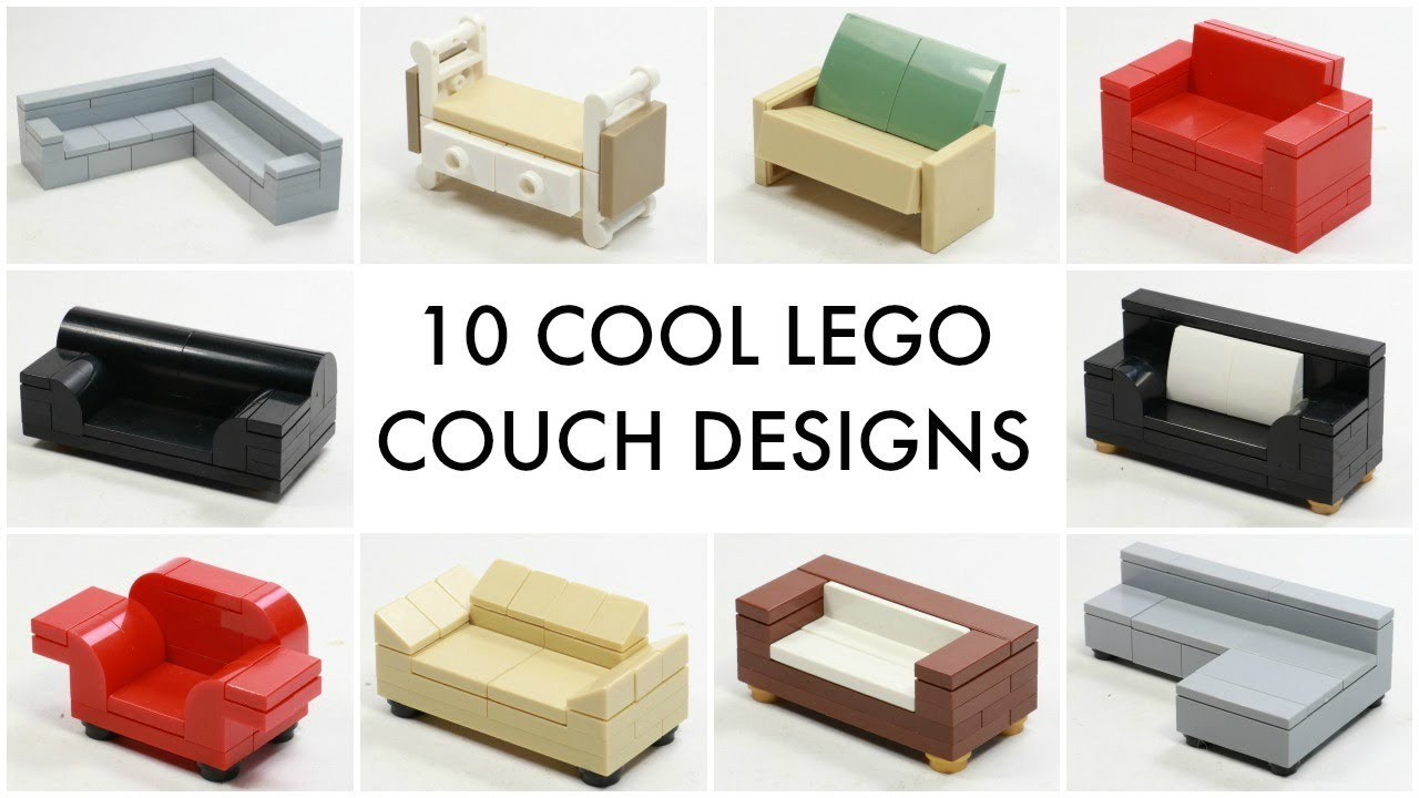 10 LEGO Couch Ideas Anyone Can Make